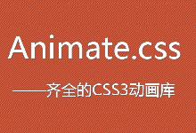 CSS第10款:Animcate.css 特效样式说明